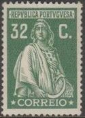Portugal 1926 Ceres (London Issue) j