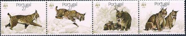 Portugal 1988 WWF Iberian Lynx (Lynx pardina) STPa
