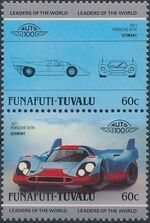 Tuvalu-Funafuti 1985 Leaders of the World - Auto 100 (2nd Group) d