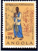 Angola 1957 Indigenous Peoples of Angola b