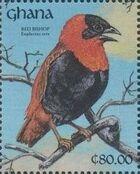 Ghana 1991 The Birds of Ghana e