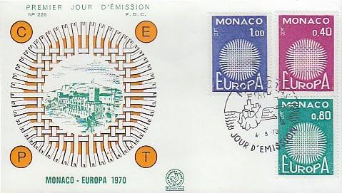 Monaco 1970 Europa e