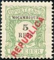 Mozambique 1916 Postage Stamps from 1904 Overprinted REPUBLICA a.jpg
