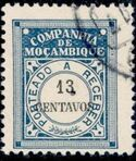 Mozambique Company 1916 Postage Due Stamps h