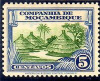Mozambique company 1937 Assorted designs b