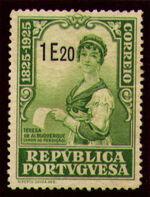 Portugal 1925 Birth Centenary of Camilo Castelo Branco v