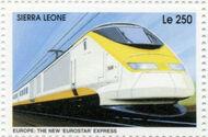 Sierra Leone 1995 Railways of the World 3a