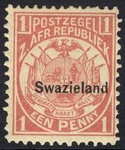 Swaziland 1889 Coat of Arms e