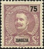 Zambezia 1903 D. Carlos I e