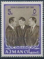 Ajman 1964 President Kennedy g
