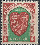 Algeria 1947 Coat of Arms (1st Group) g
