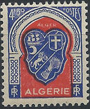 Algeria 1947 Coat of Arms (1st Group) h