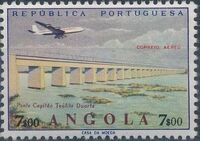 Angola 1965 Various Works and Airplane h