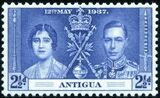 Antigua 1937 George VI Coronation c