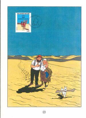 Belgium 2007 Tintin book covers translated zag