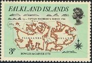 Falkland Islands 1981 18th Century Maps and Charts of the Falkland Islands a