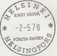 Finland 1978 EUROPA PSMa