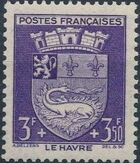 France 1942 Coat of Arms (Semi-Postal Stamps) i