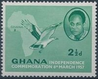 Ghana 1957 Independence b