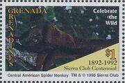Grenada Grenadines 1995 100th Anniversary of Sierra Club - Endangered Species f