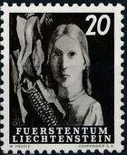 Liechtenstein 1951 Farm Labor d
