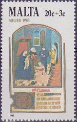 Malta 1983 Christmas c
