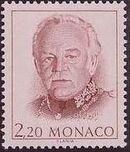 Monaco 1989 Prince Rainier III b