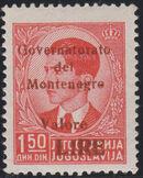 Montenegro 1941 Yugoslavia Stamps Surcharged under Italian Occupation k