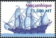 Mozambique 2002 Ships c