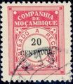 Mozambique Company 1916 Postage Due Stamps i.jpg