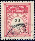 Mozambique Company 1916 Postage Due Stamps i