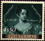 Portugal 1953 Centenary of Portugal's First Postage Stamp f