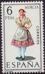 Spain 1969 Regional Costumes Issue i