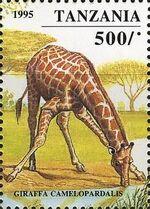Tanzania 1995 African Hoofed-animals h