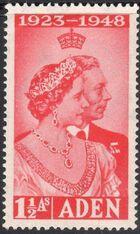 Aden 1949 Silver Wedding of King George VI & Queen Elizabeth a