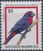 Antigua and Barbuda 1995 Birds m