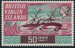 British Virgin Islands 1970 Ships m
