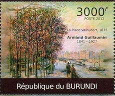 Burundi 2012 Paintings by Armand Guillaumin c