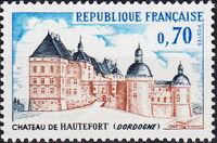 France 1969 Tourism - Hautefort Chateau a