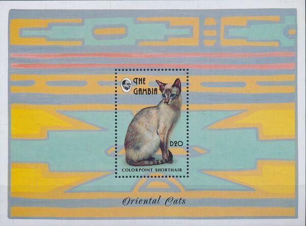 Gambia 1993 Oriental Cats SSa