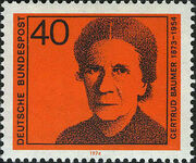 Germany, Federal Republic 1974 Famous Woman c