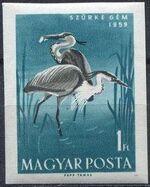 Hungary 1959 Water Birds af
