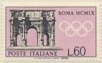 Italy 1959 Olympic Games in Rome 1960 e