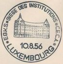 Luxembourg 1956 4th Anniversary of the Establishment in Luxembourg of the Headquarters of the European Coal and Steel Community PMa
