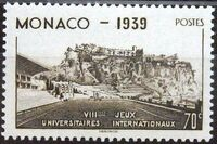 Monaco 1939 8th International University Games b