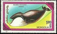 Mongolia 1990 Marine Mammals g