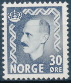 Norway 1951 King Haakon VII a