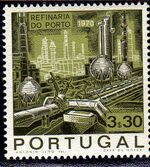 Portugal 1970 Opening of the Oil Refinery in Porto c