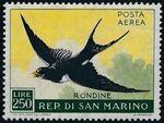 San Marino 1959 Birds e