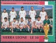 Sierra Leone 1990 Football World Cup in Italy l